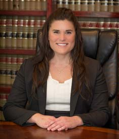 Attorney Autumn Miller at the Albritton Law Firm